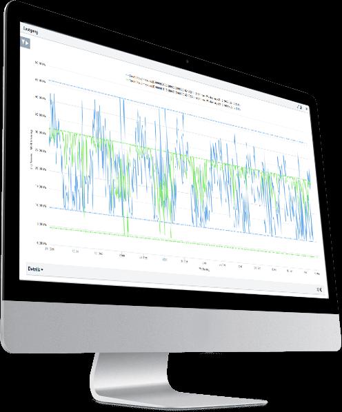 Zukunftsfähiges, webbasiertes Controllingsystem und Managementplattform für Energie, Emissionen und Sensordaten.